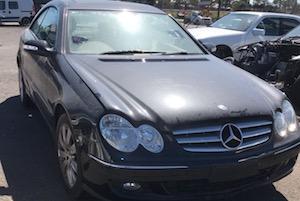 2007 Mercedes Benz CLK350 Coupe Now Wrecking